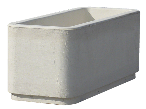 Mobilier urbain sn girard une gamme compl te de for Jardiniere beton rectangulaire