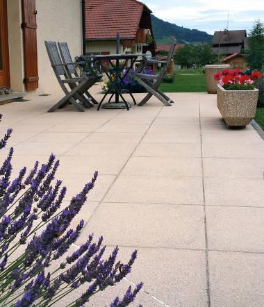 Dalles de terrasses - SN Girard - Une gamme complète de ...